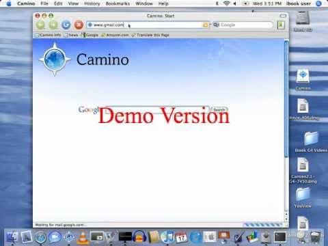 Camino  web browser for ibook g4 review