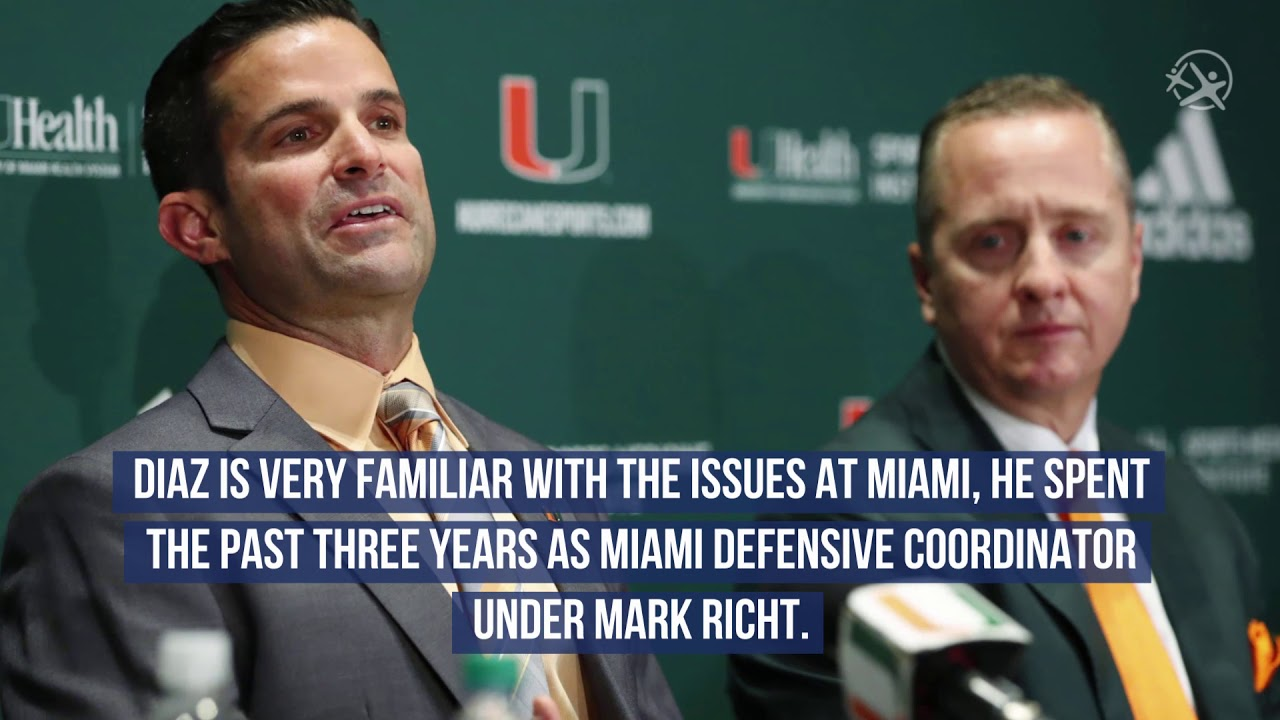 University of Miami Hires Manny Diaz as New Head Coach