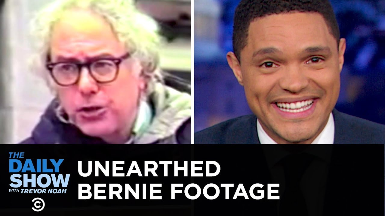 Footage Surfaces from Bernie Sanders's 1980s Public Access Show | The Daily  Show