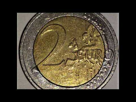 Irland 2 Euro Münze 2008 Euromünze Youtube