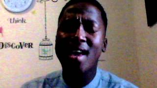 Luthando Makubalo trying out a S.A song by Nathi