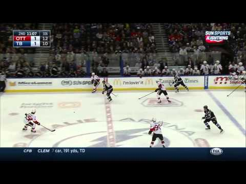 Ottawa Senators vs  Tampa Bay Lightning 29.11.2014