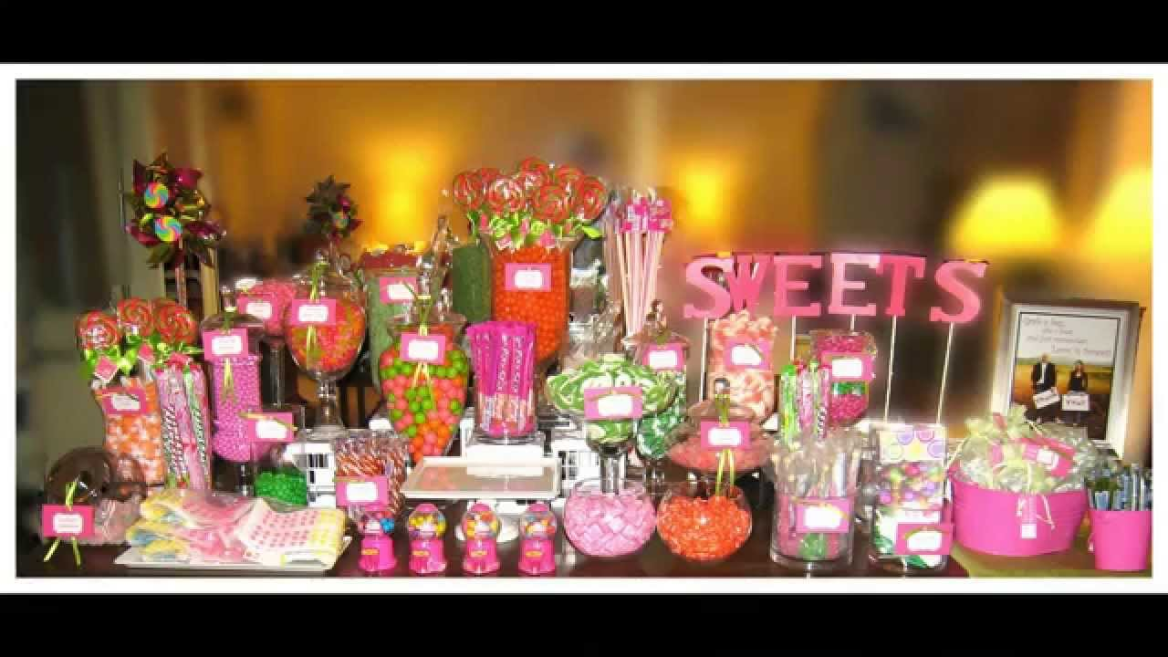 The Ultimate Candy Buffet Youtube