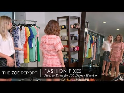 How To Look Chic In The Heat with Simply Sona | Fashion Fixes With Rachel Zoe Studio