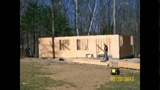 16x36 Shed built in Ellington CT