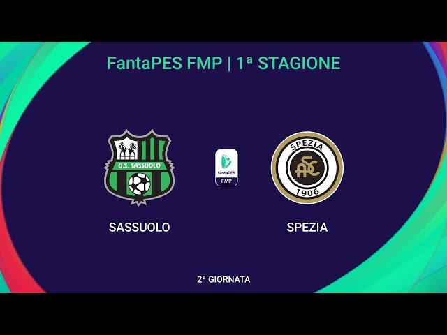 Sassuolo - Spezia   FantaPES FMP   2^ Giornata