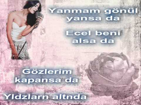 Tuba Büyüküstün (yildizlarin altinda with lyrics )