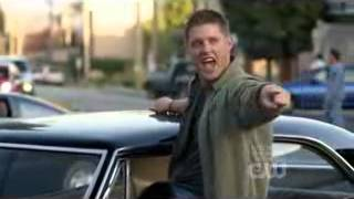 Supernatural Dean Singing Eye Of The Tiger High Quality