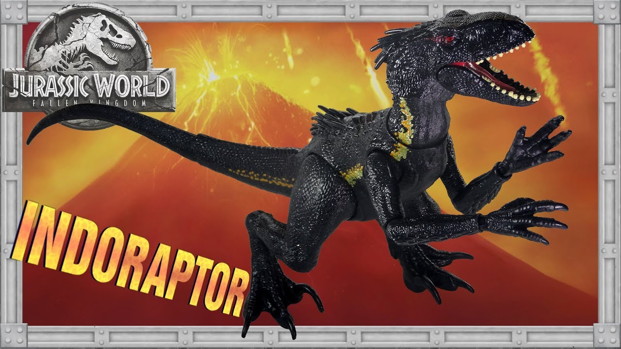 Jurassic World Dino Rivals Indoraptor Dinosaur Action Figure Toy Super poseable
