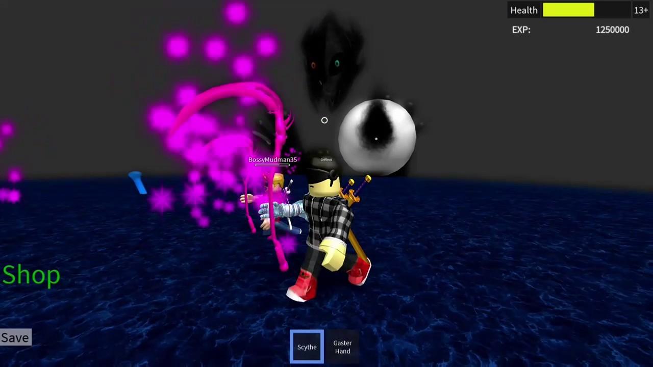 ROBLOX Undertale 3D Boss Battles: Final Gaster