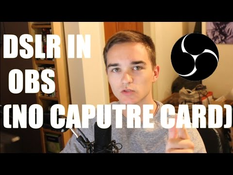 How To Use A DSLR in OBS As a Webcam (No Capture Card - Sparkocam)