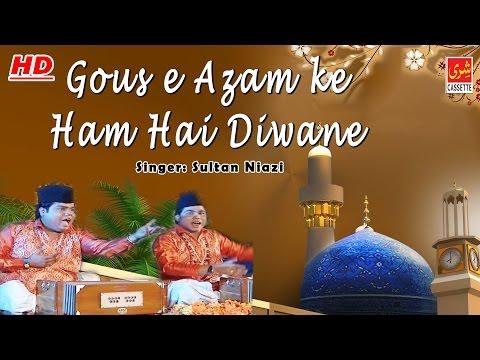 Ghous e Azam Ke Hum Hai Diwane | Sultan Niazi | New Qawwali Song 2016 | Shree Cassette Islamic