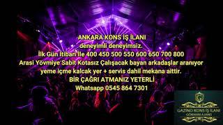 Ankara gazino kons iş ilanı   0545 864 7301 mp4