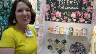 Tessie Fay, Pink Lemonade from Windham Fabrics Spring Quilt Market 2019 | Fat Quarter Shop