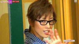 2017.9.8Filming FLOWER TROUPE アンケート有り IRIMACHI image of Taka...