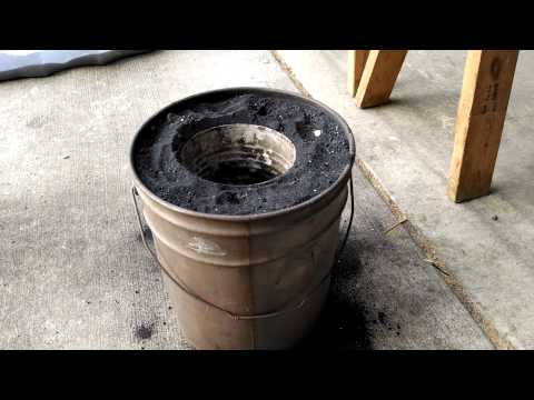 Build your own aluminum melting charcoal furnace