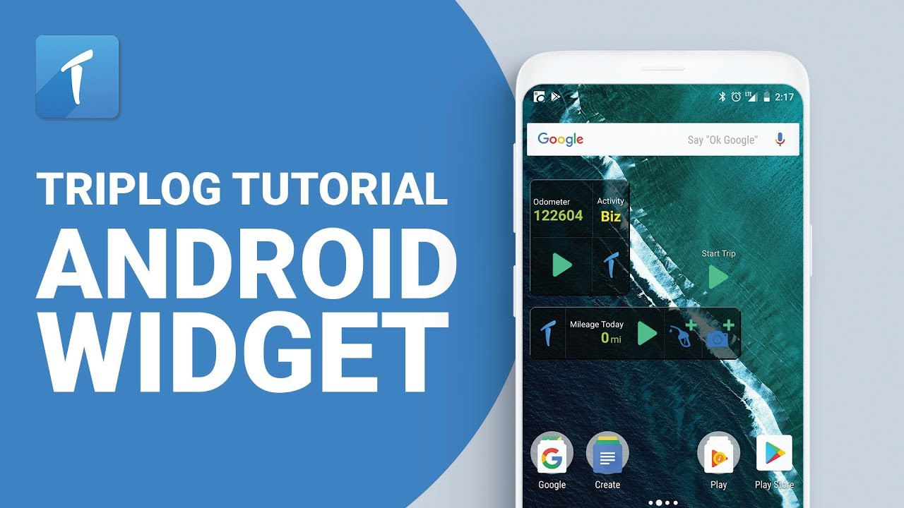 TripLog Tutorial - Android Widget