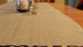 How To Create A Diy Rustic Table Runner - Diy Home Tutorial - Guidecentral