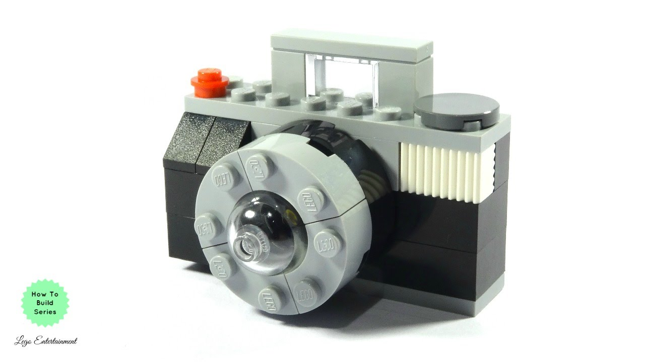 How To Build A Lego Camera Youtube