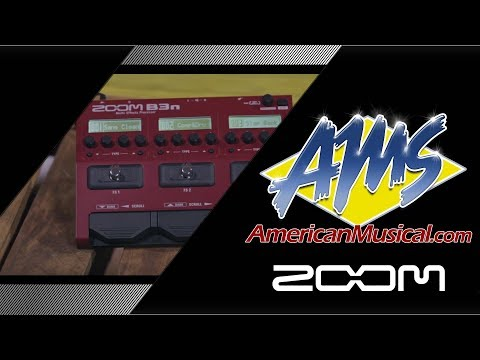 Zoom B3n Overview - American Musical Supply
