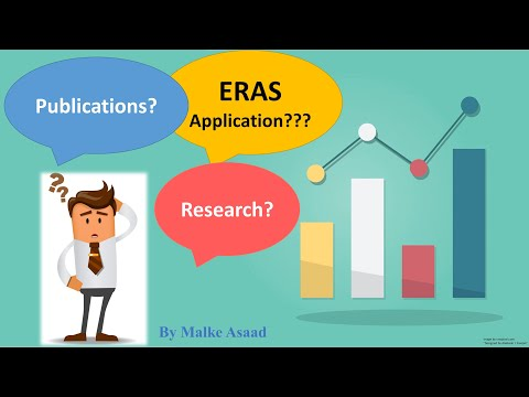 """How to Fill """"Publications"""" and """"Research"""" on Your ERAS Residency Application?"""