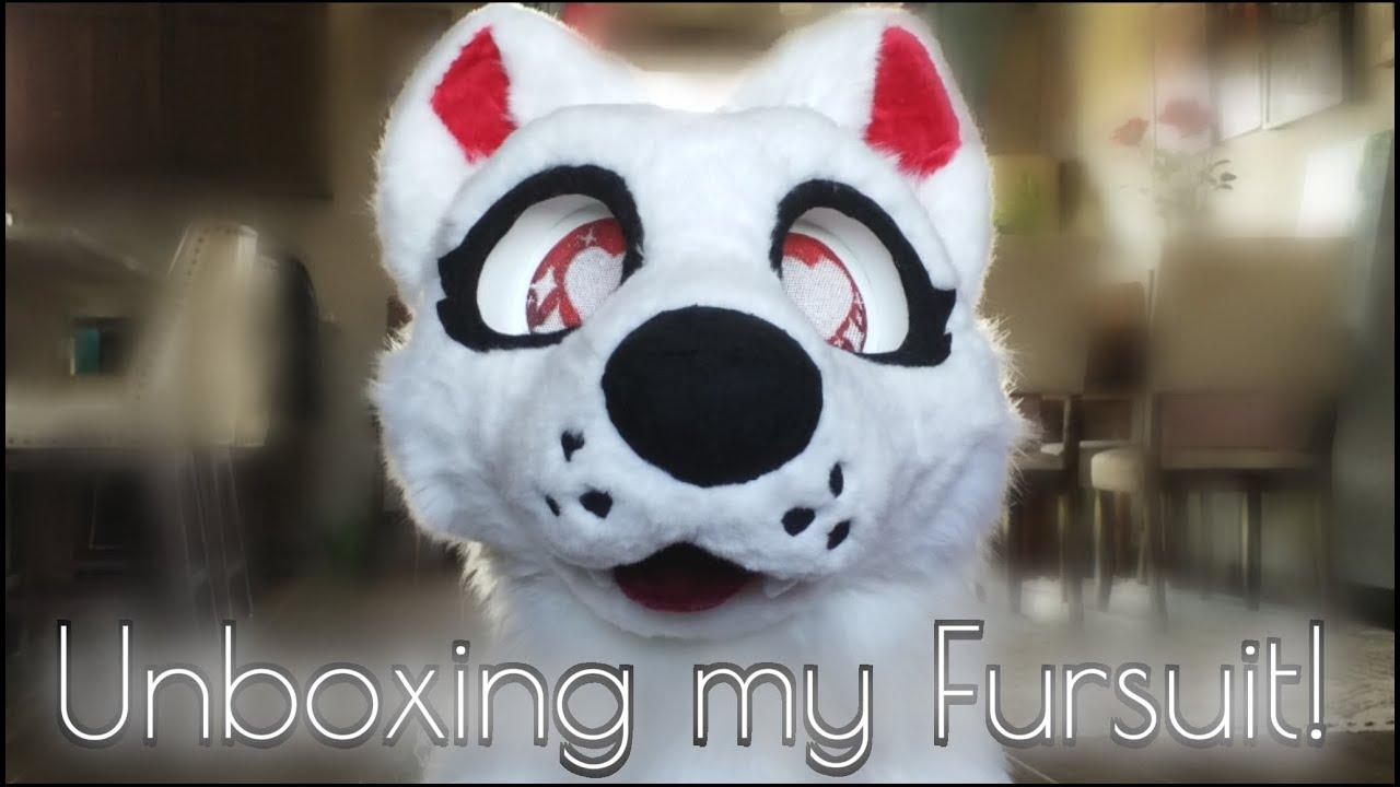 Unboxing my Fursuit Head!