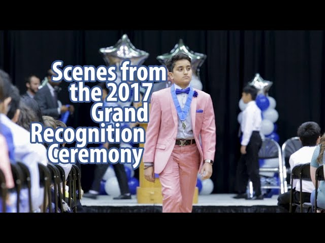Duke TIP — Scenes from the 2017 Grand Recognition Ceremony