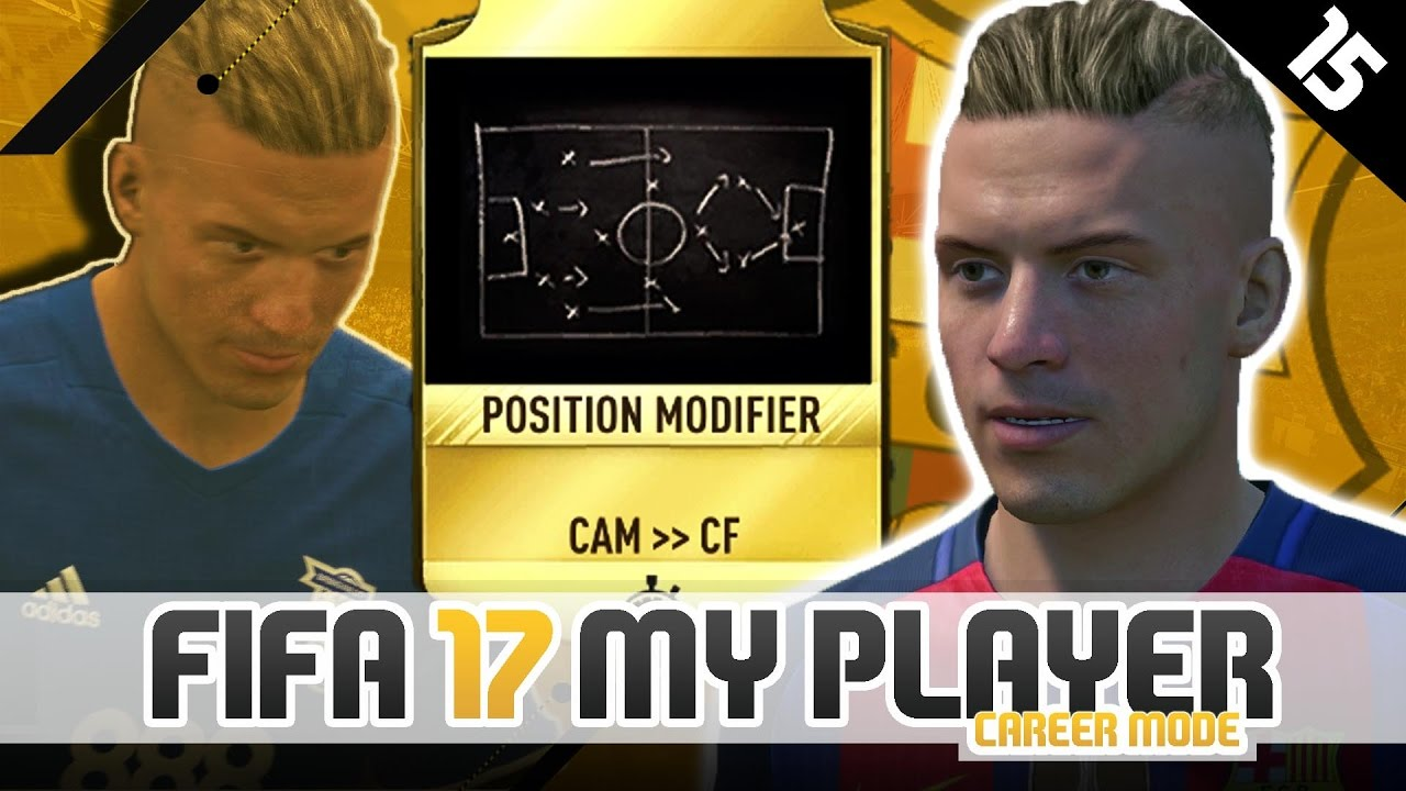 CHANGING POSITIONS?!   FIFA 17 Career Mode Player w/Storylines   Episode  #15 (The Spanish Legend)