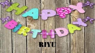 Riyu   Wishes & Mensajes