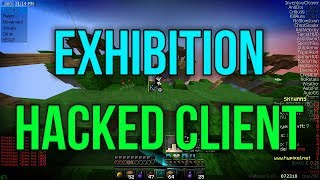 Exhibition - Hacking on Hypixel Skywars #3 - [PRIVATE HACKED CLIENT]