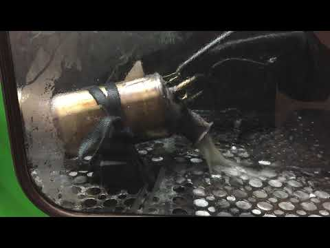 BMW 525D DPF cleaning by DPF repair and cleaning Hull