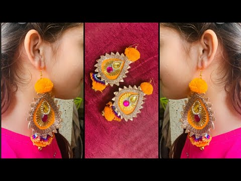 DIY Earrings | Handmade Earrings | Earrings Making | Handmade Jewellery