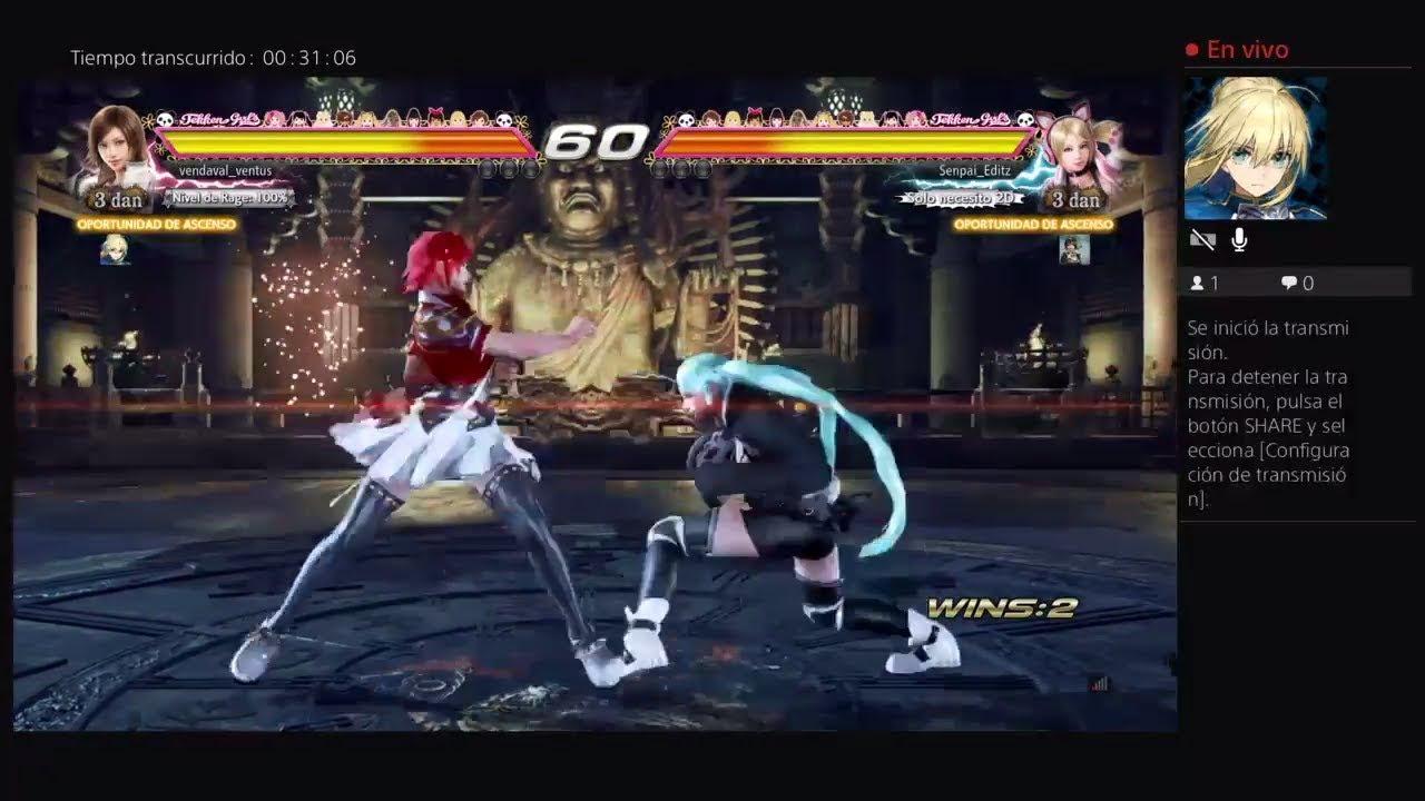 Hatsune Miku Vs Nishikino Maki - Tekken 7