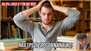 NAJLEPSZY SPOSÓB NA NAUKĘ! *99,9% ludzi tego nie zna!1!* | Porady JDabrowsky #1