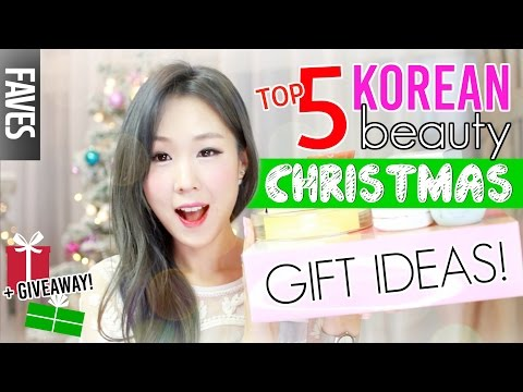 TOP 5 K-BEAUTY CHRISTMAS GIFT IDEAS (+Giveaway!)