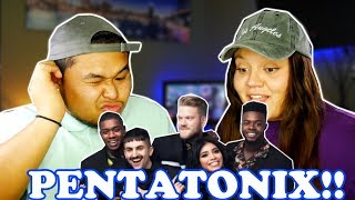 [OFFICIAL VIDEO] New Rules x Are You That Somebody? - Pentatonix | REACTION 2018!
