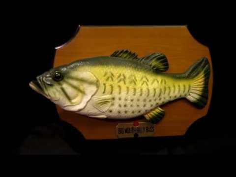 Gemmy Billy Bass  Animatronic Fish Singing