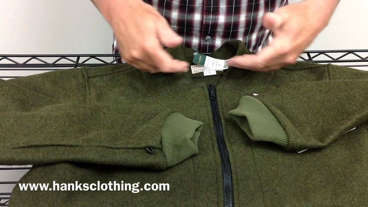 Filson 10036 Mackinaw Wool Liner - YouTube
