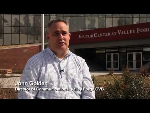 John Golden, Director of Communications, Valley Forge CVB - Unravel Travel TV