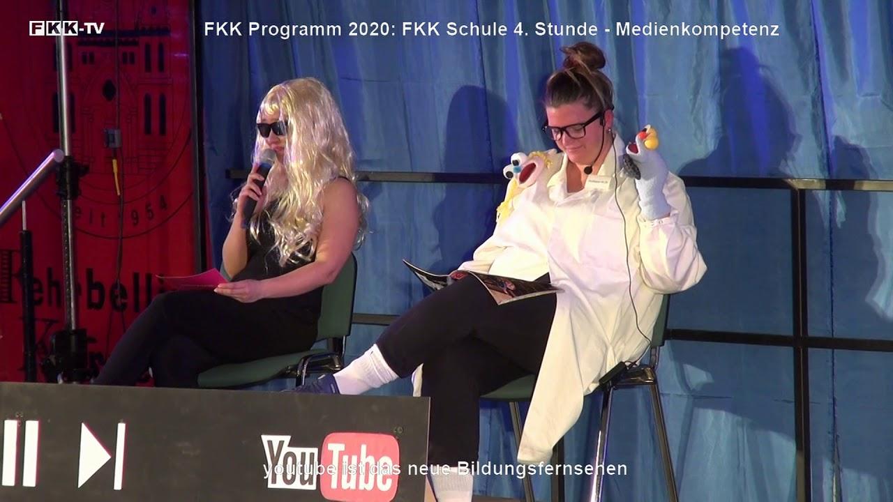 FKK Programm 2020: FKK Schule 4. Stunde - youtube ist das