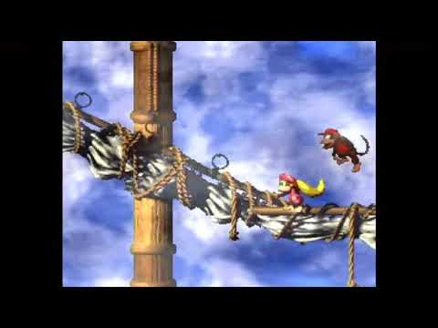 "Donkey Kong Country 2 (1) - Pirate Ship ""Bad K.Rool"""