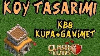 Clash Of Clans : Köy Düzeni KB 8 - Kupa/Ganimet