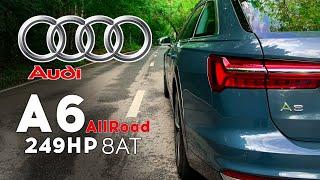 Audi A6 Allroad - «мало» мощности, много тяги. Разгон 0 - 100