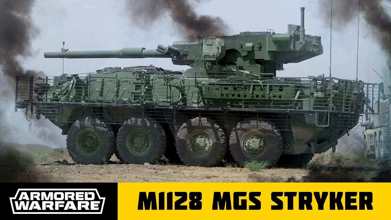 Modern Warfare Wallpaper Hd Armored Warfare M1128 Stryker Mobile Gun System Trailer