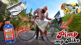 Wir TUNEN ein Bike für den BLITZER! - Experiment Gadget Fun