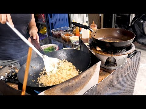 Fried Rice And Chicken - Vietnam Street Food
