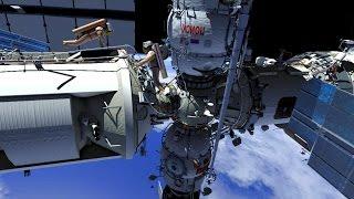 Russian ISS Spacewalk #42 Animation