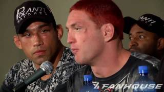 Strikeforce Fedor vs. Rogers Video Post-Fight Press Conference, Part 1