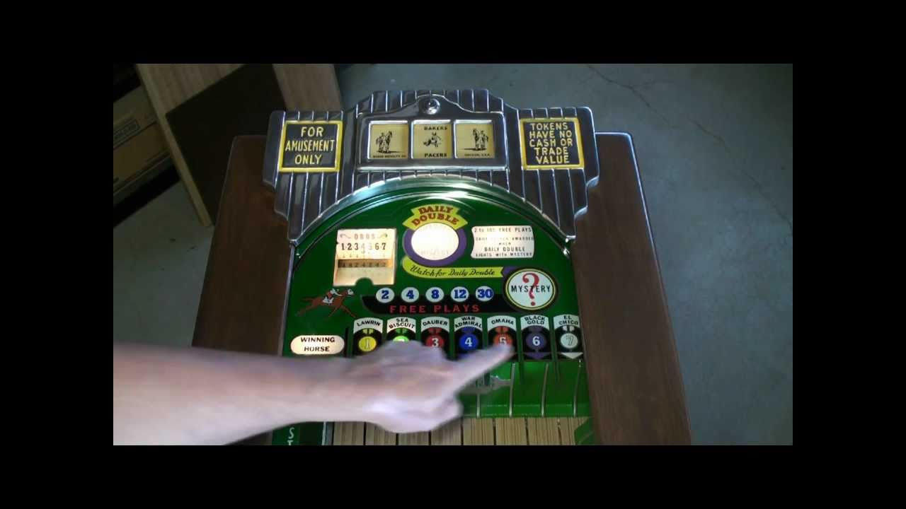 slot machine restoration