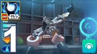 LEGO Star Wars Force Builder - Gameplay Walkthrough Part 1 - Padawan (iOS, Android)